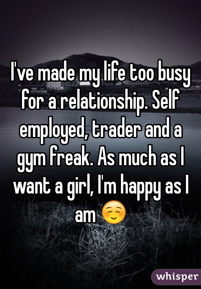 How Busy Is Too Busy For Relationship