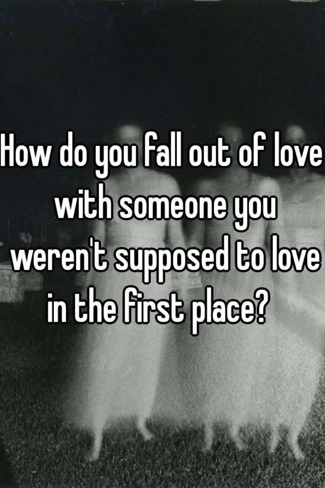 How do u fall in love