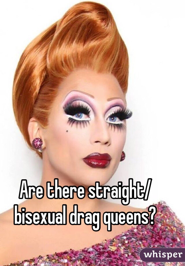 straight drag queens