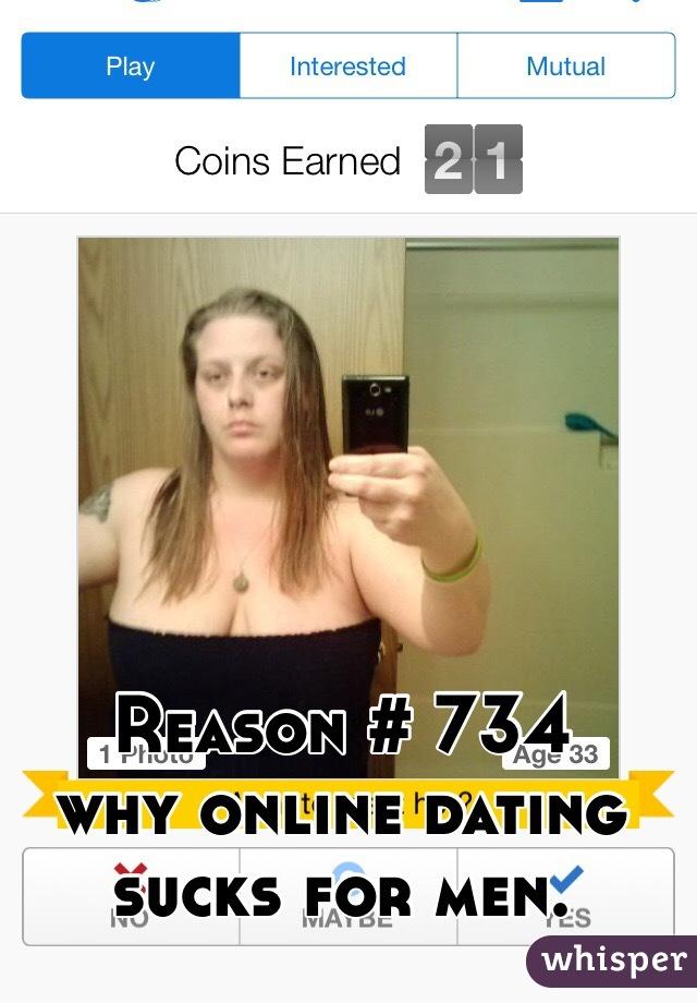 Online dating sucks for guys