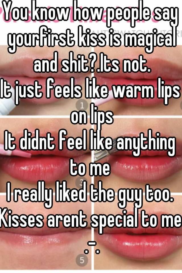 What Does A Kiss Feel Like