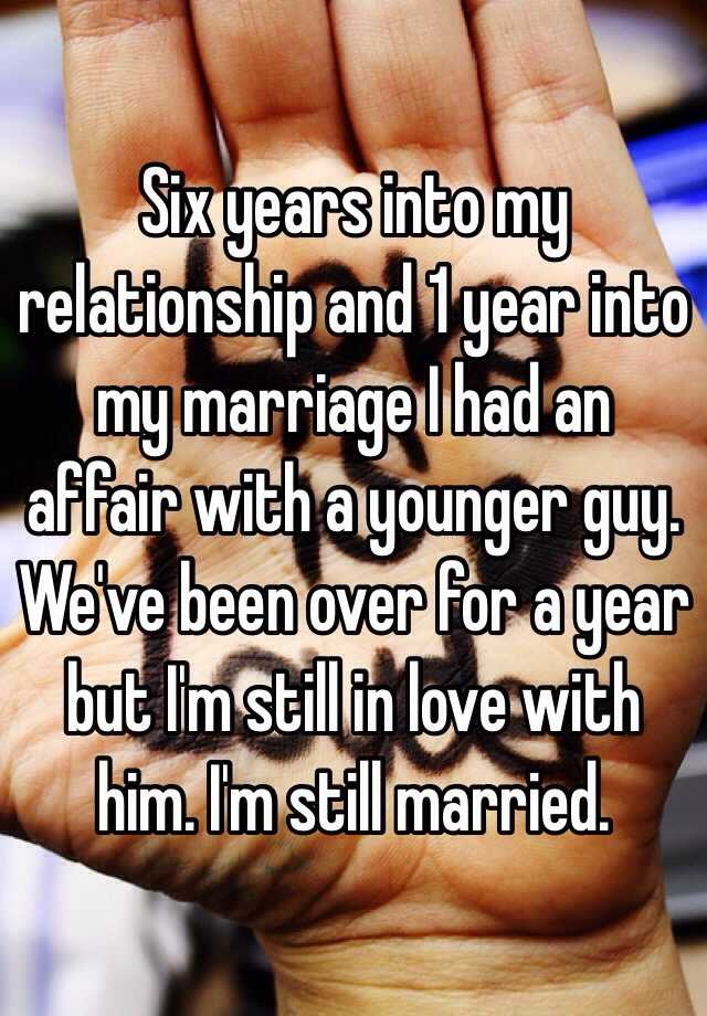 1 year after affair
