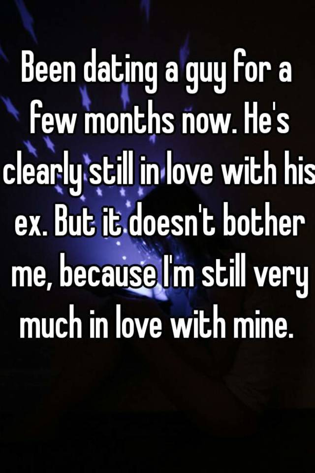 Loves Guy Who Dating His Ex A