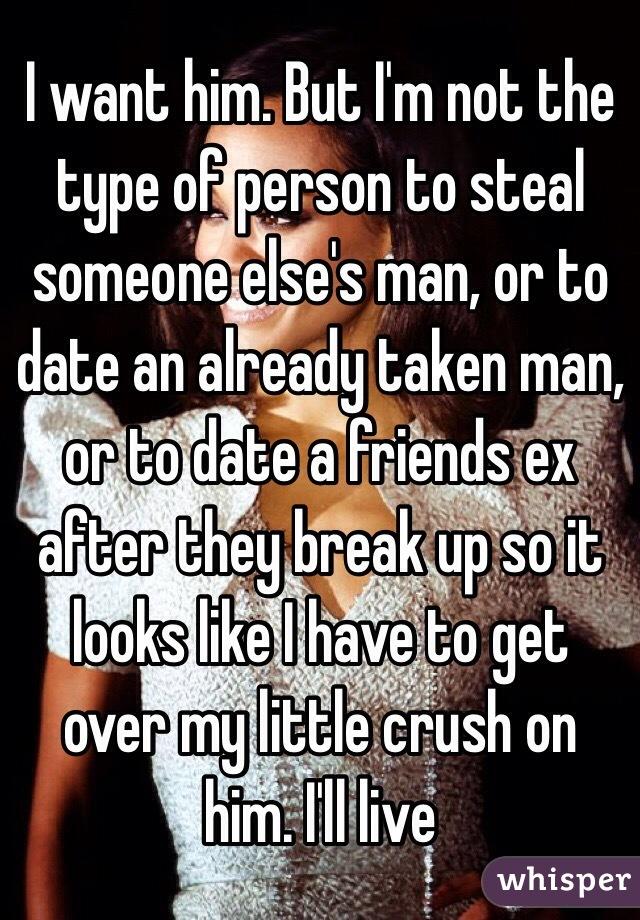 Dating someone already taken