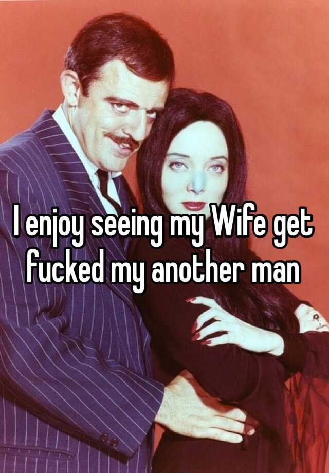my wife dating another man