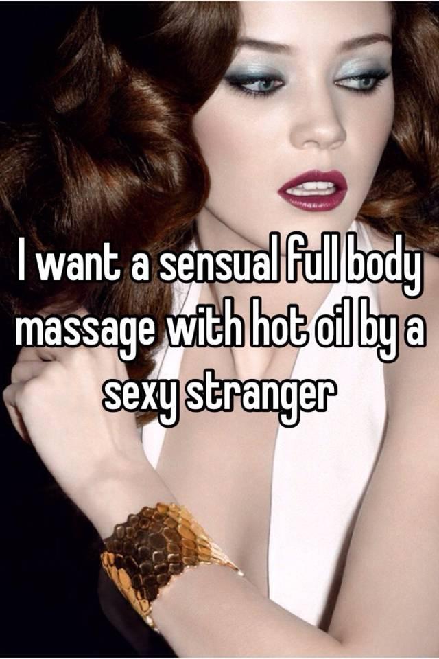 sensual massage hot