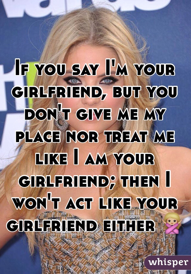 Give me your girlfriend