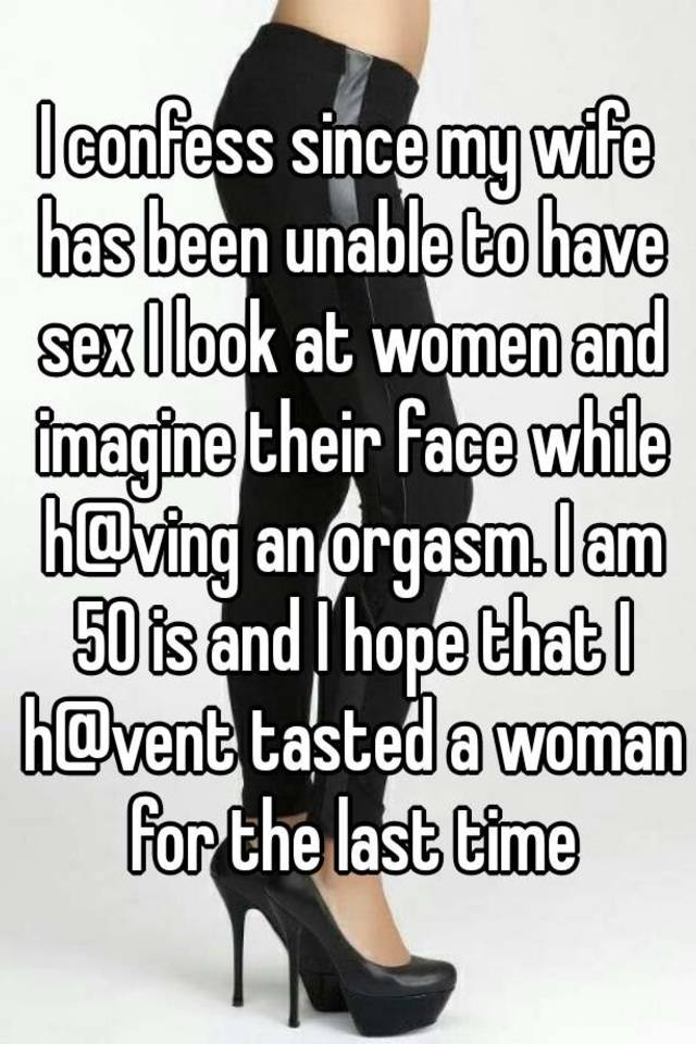 unable to have sex