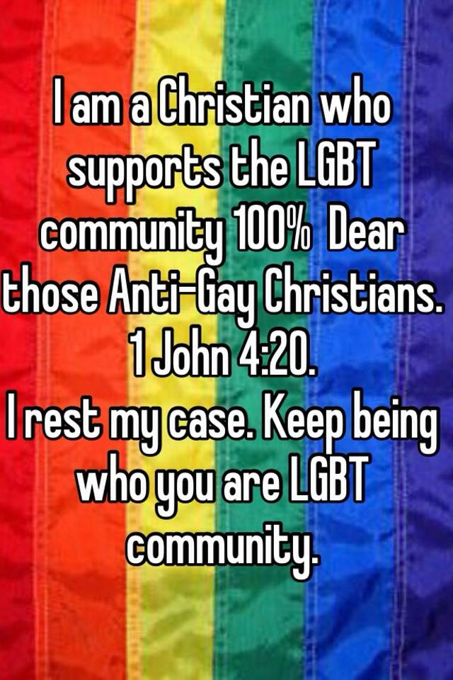 Gay christians dating