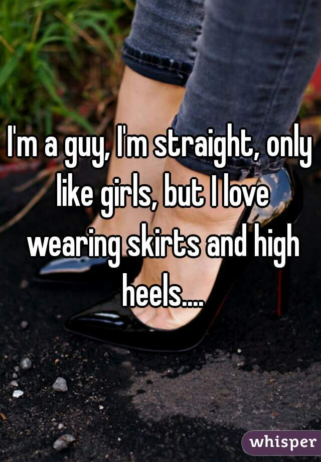 1838110d76a3 I m a guy, I m straight, only like girls, but I love wearing skirts and ...