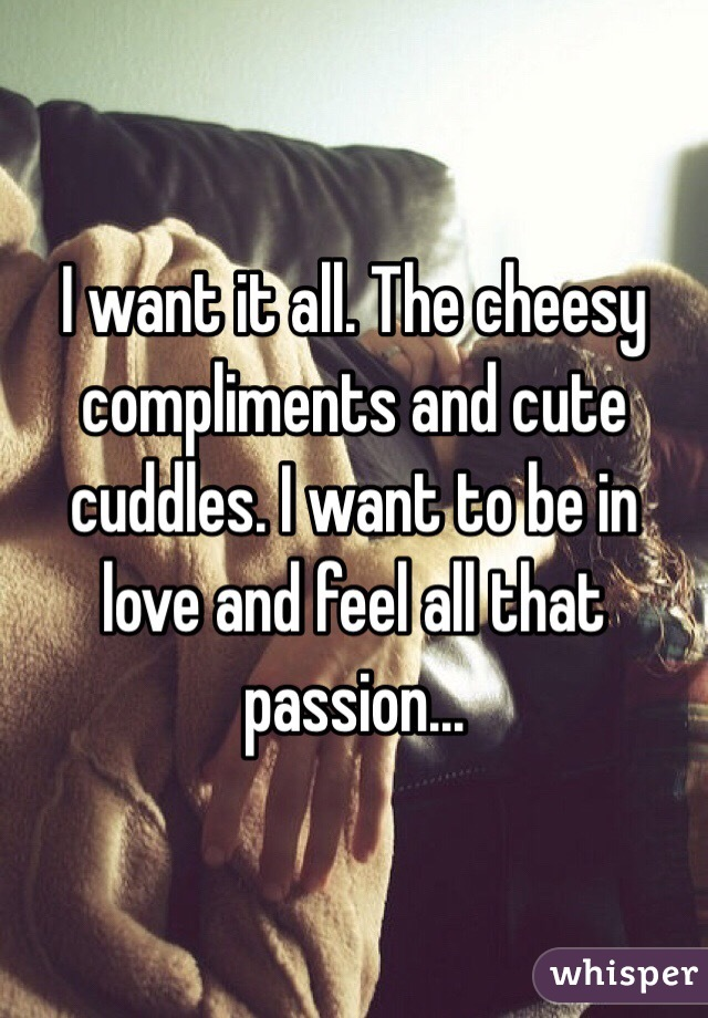 cheesy compliments