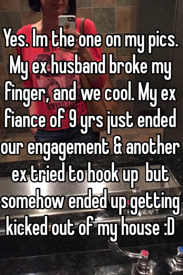 Husband Am Ex Tell Should I My Hookup I