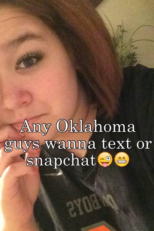 Oklahoma snapchat