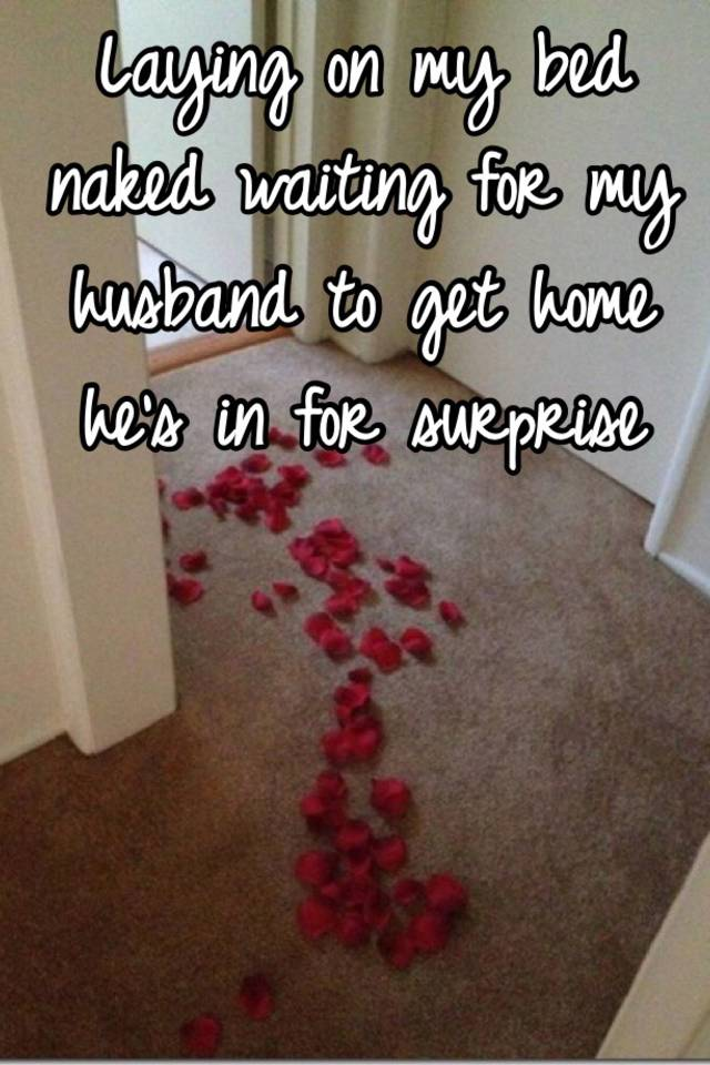 how to surprise my husband in bed