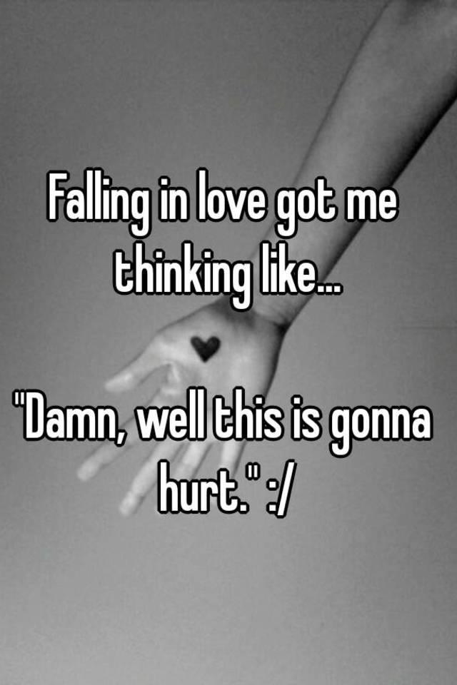 you got me falling in love