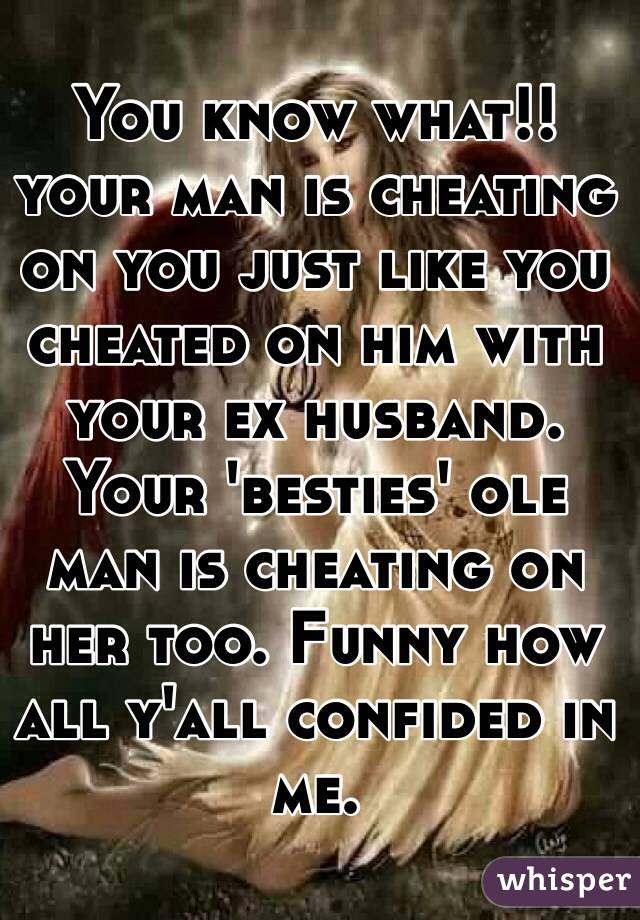 husband cheating with ex