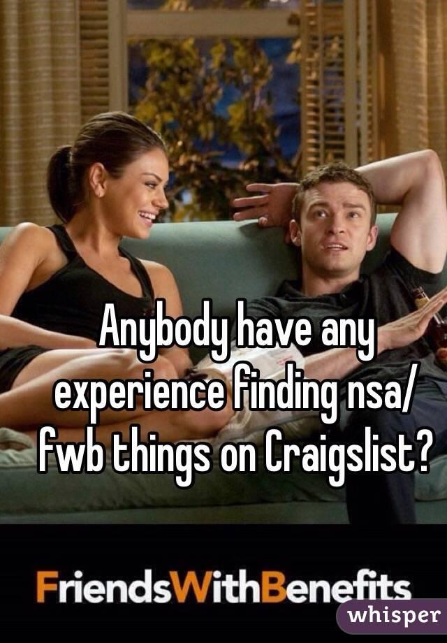 Fwb craigslist