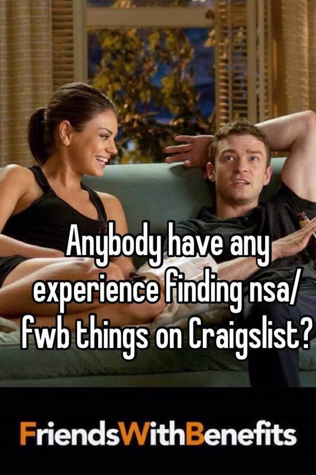 what is fwb on craigslist