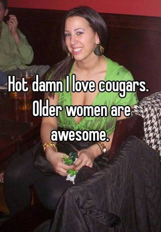 Cougar ladies hot Cougar
