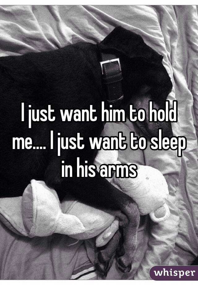I Want To Sleep With Him