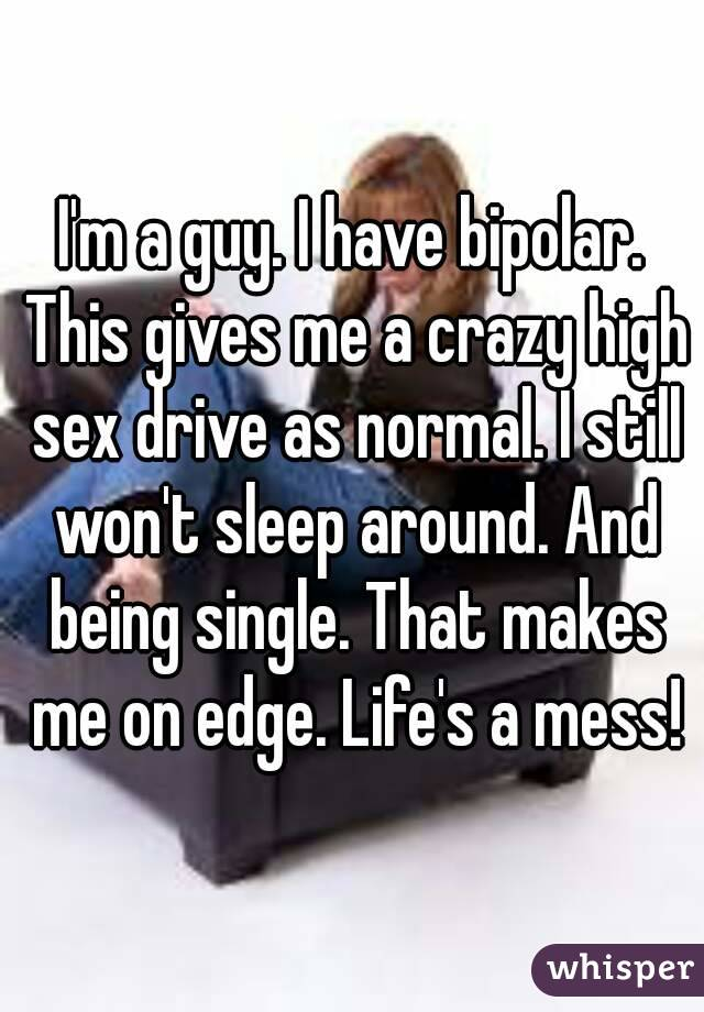 Bipolar wife wont have sex