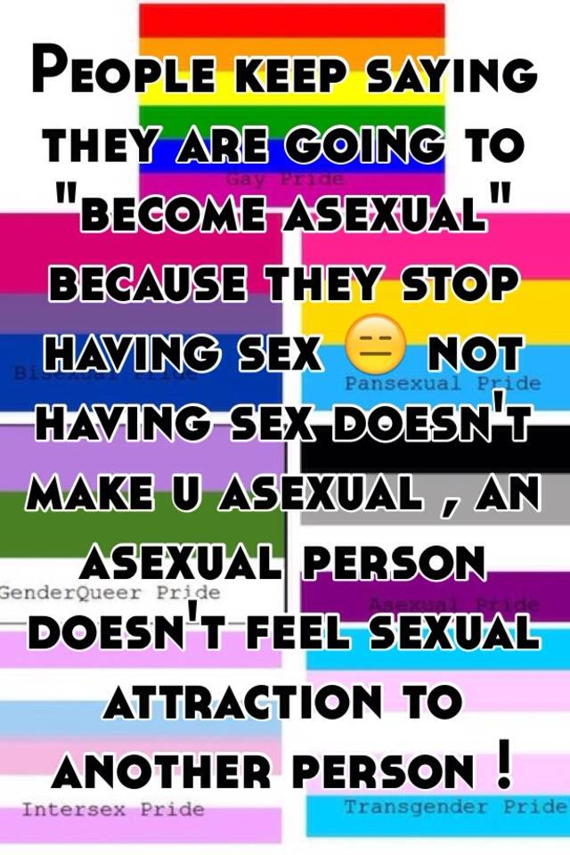 What is asexual person