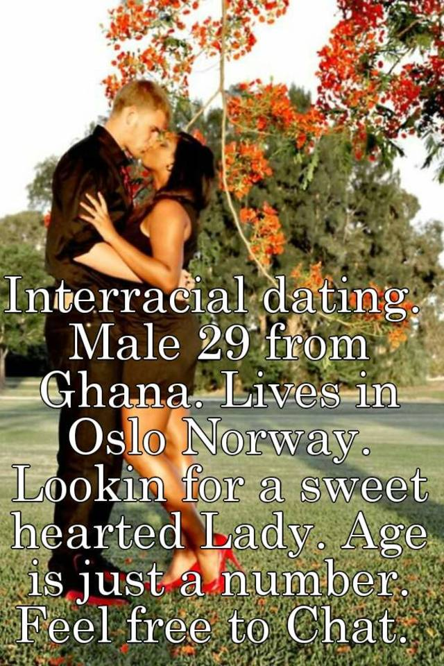 Interracial dating norway