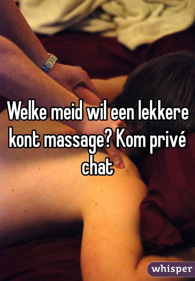 Welke meid wil een lekkere kont massage? Kom privé chat