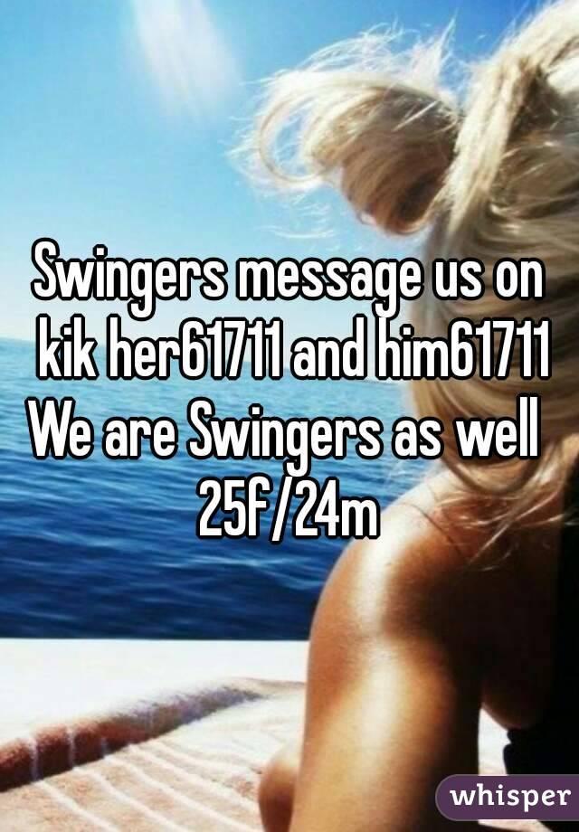 Swingers on kik