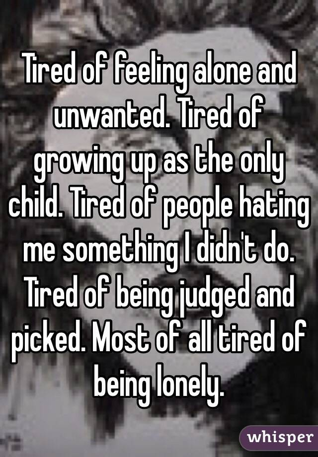 ONLY: Growing UP Alone