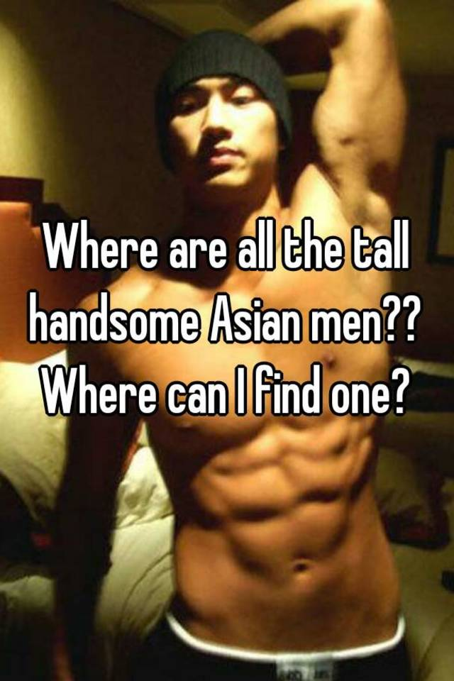 Find asian men