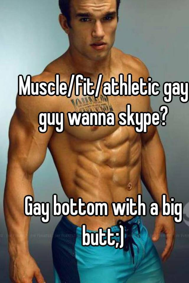 Gay male muscle