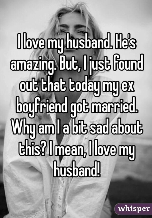 Found out my boyfriend is still married