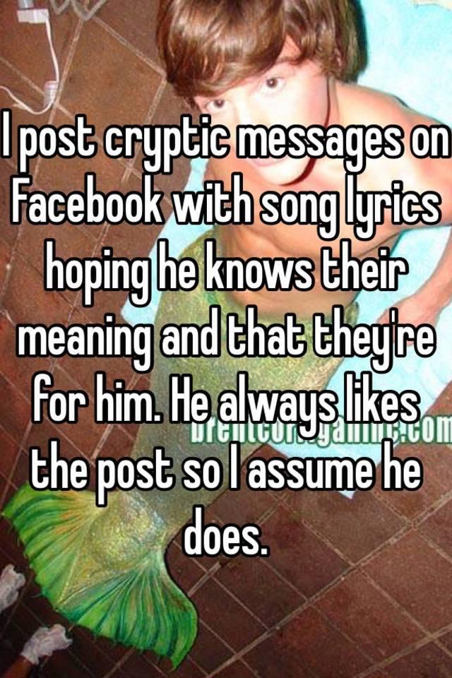 does he know lyrics