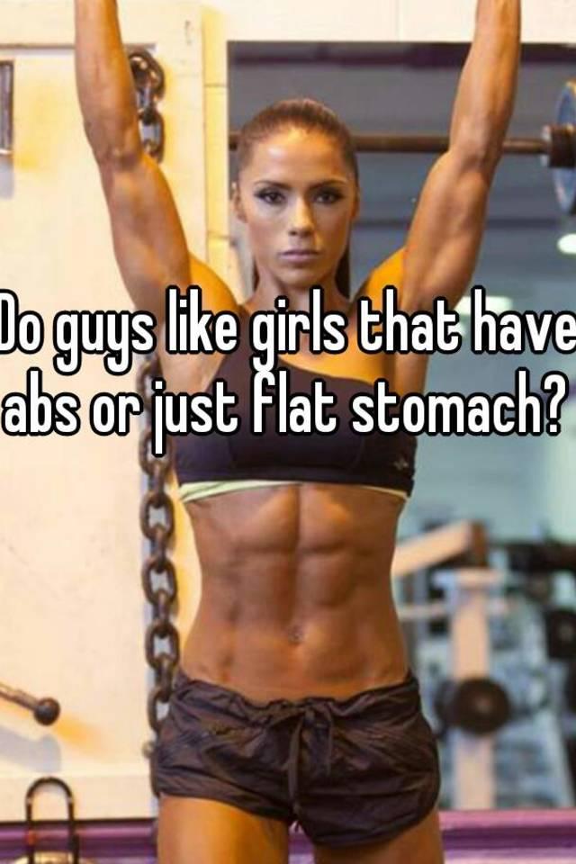 do girls like abs