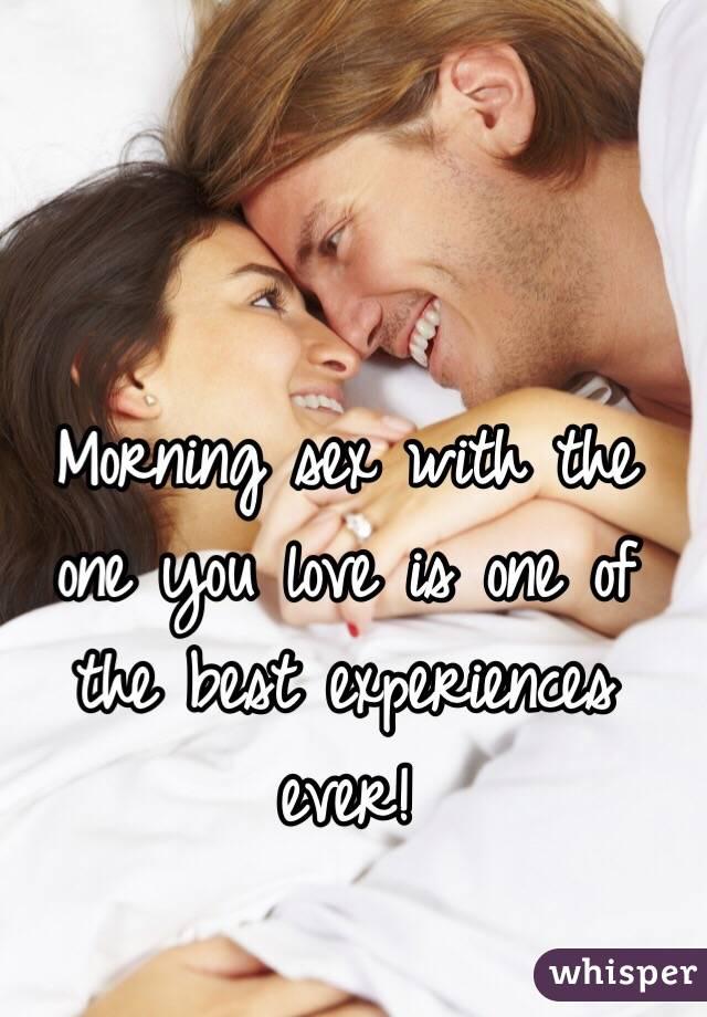 Одна любовь и секс