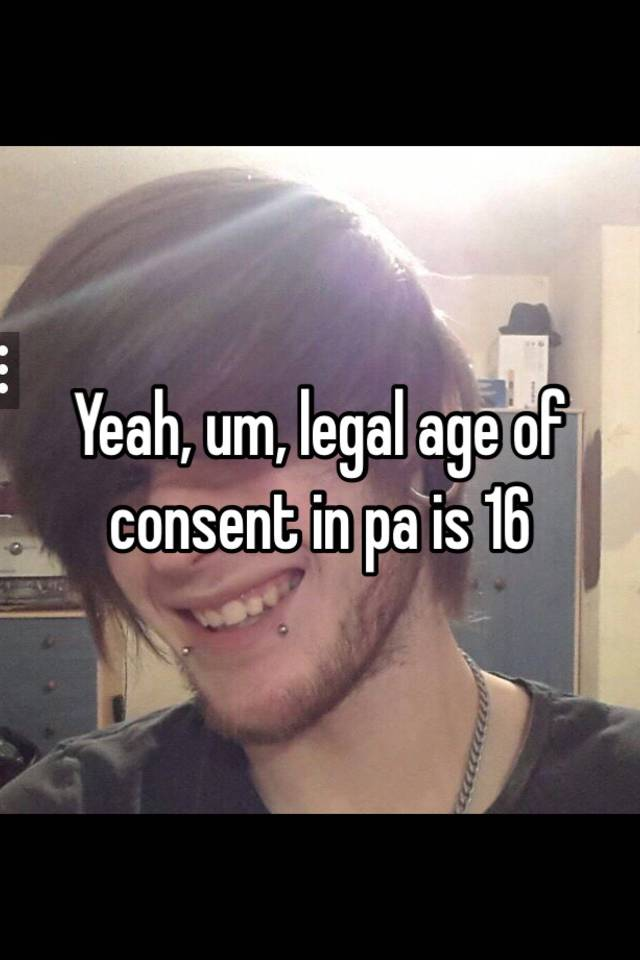legal age of dating in pa