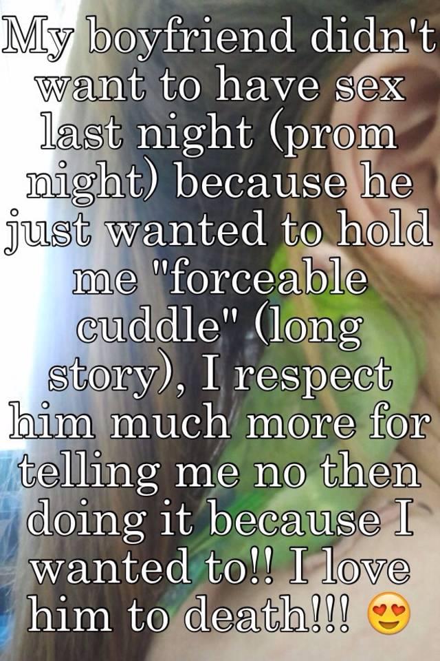 Prom sex stories