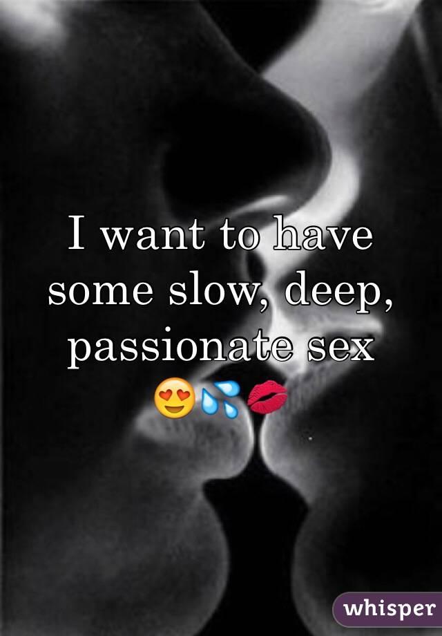 Slow passionate fuck