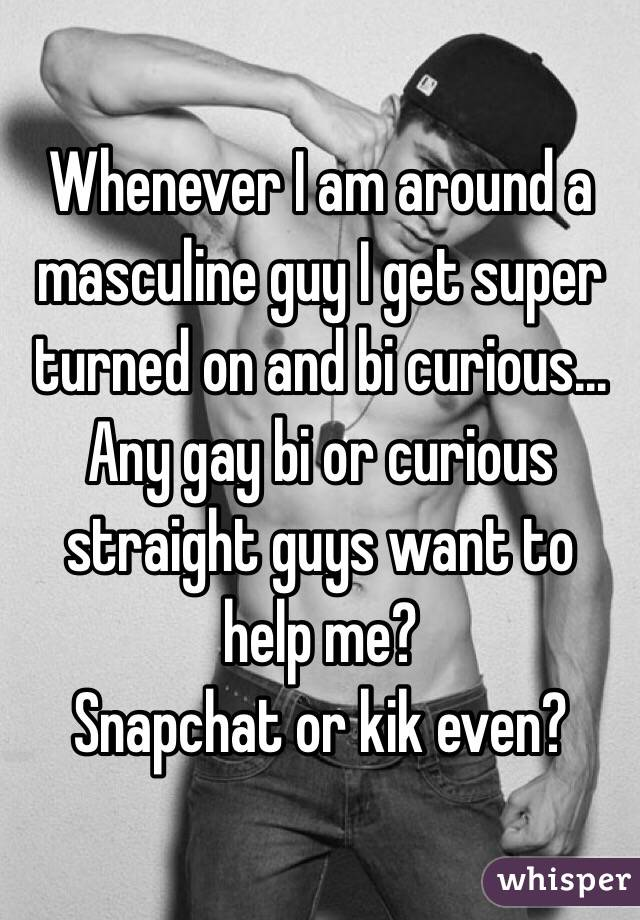 Gays Turns Curious Guy