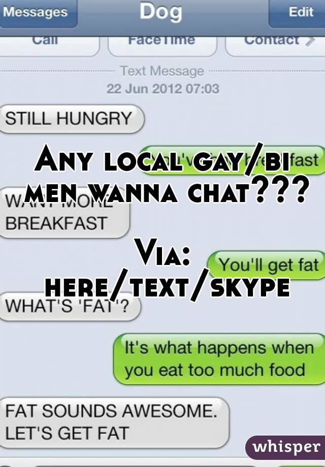 text chat gay