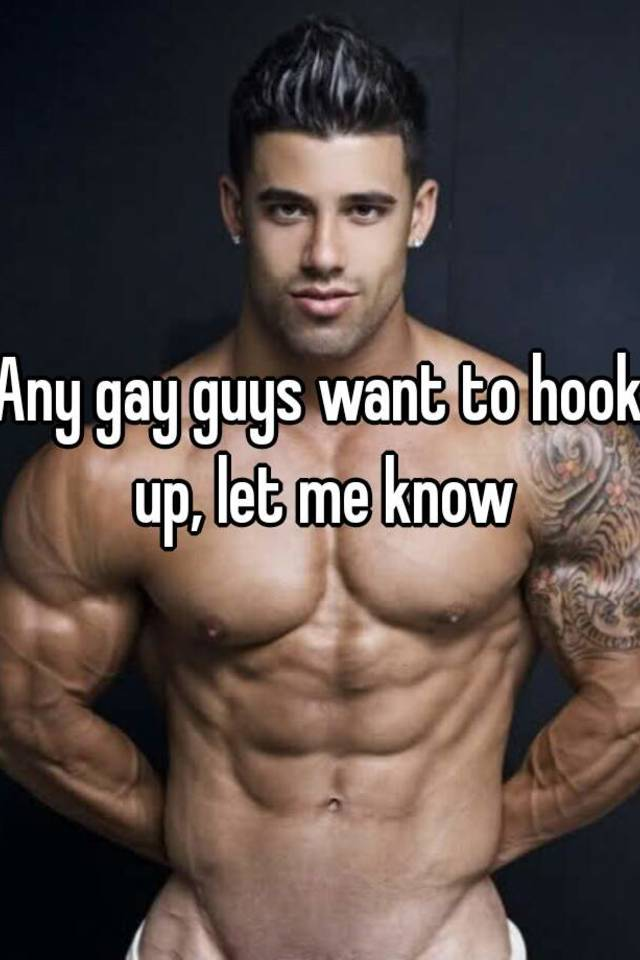 How to hook up with a gay guy