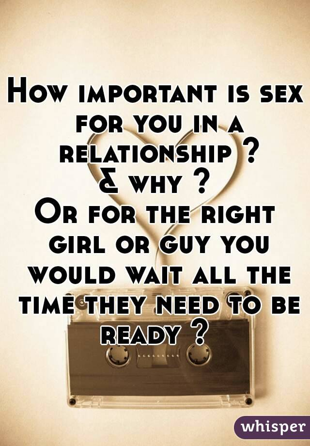Is sex important in a relationship #13
