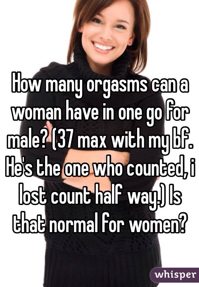 Girl How Can A Many Have Orgasms