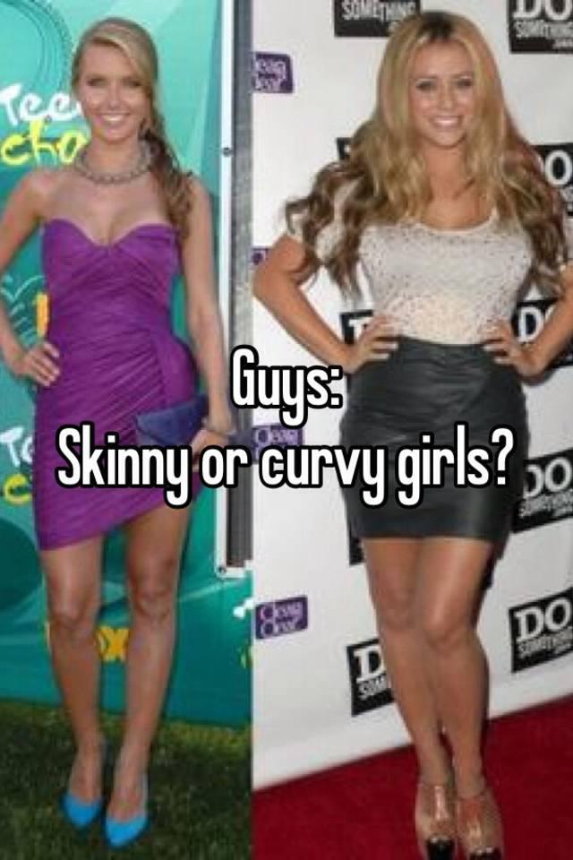 Skinny guys with curvy girls