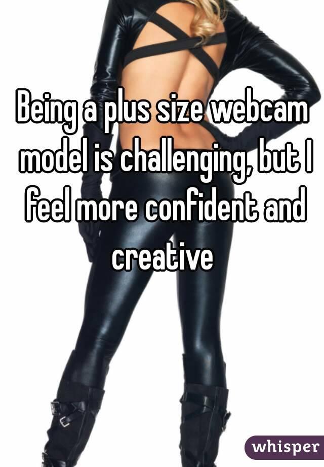 Plus size webcam models