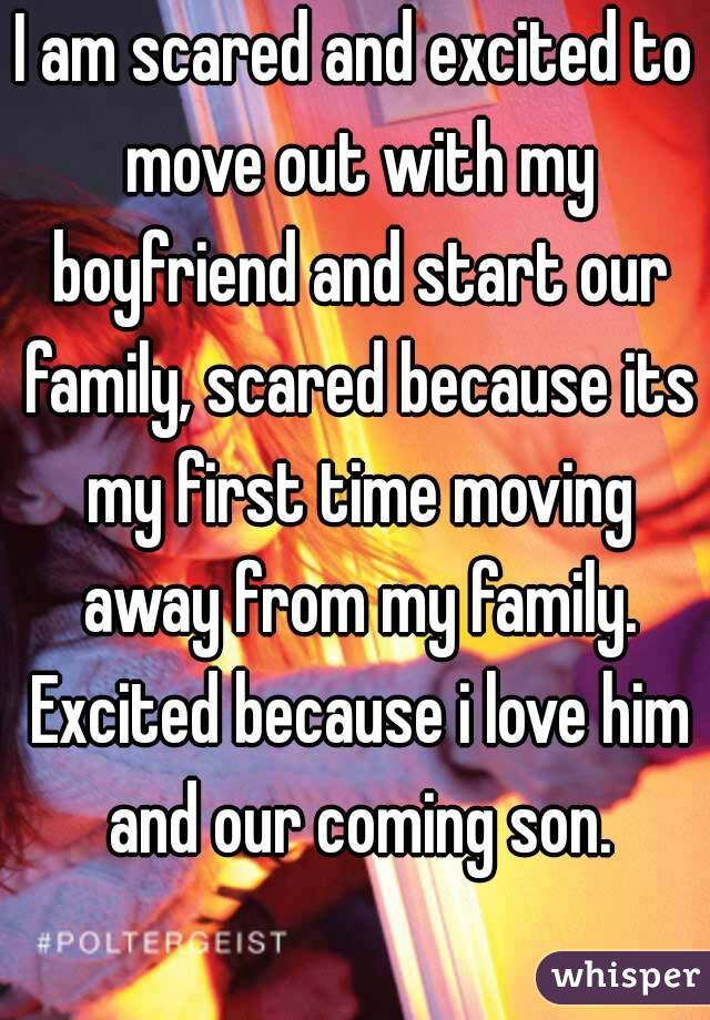 Going away with my boyfriend for the first time