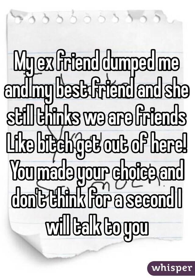 Ex friend