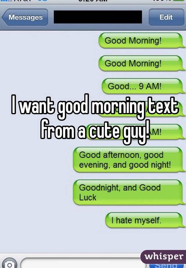 Cute Text Good Morning - ARCHIDEV