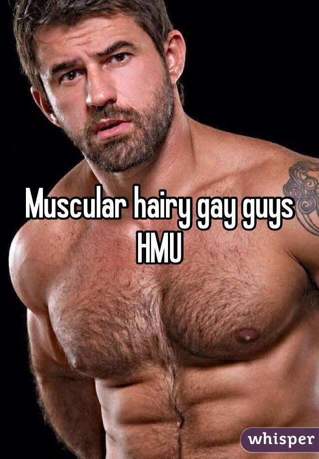 male hairy model gay